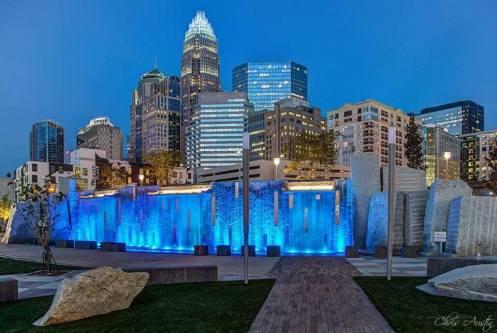 Charlotte NC skyline!