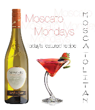 Ingredients: 2 oz. Moscato Castello del Poggio 1 oz. Triple Sec 1 oz. Cranberry juice Directions: Add fresh squeezed lime to taste Stir, shake & serve!
